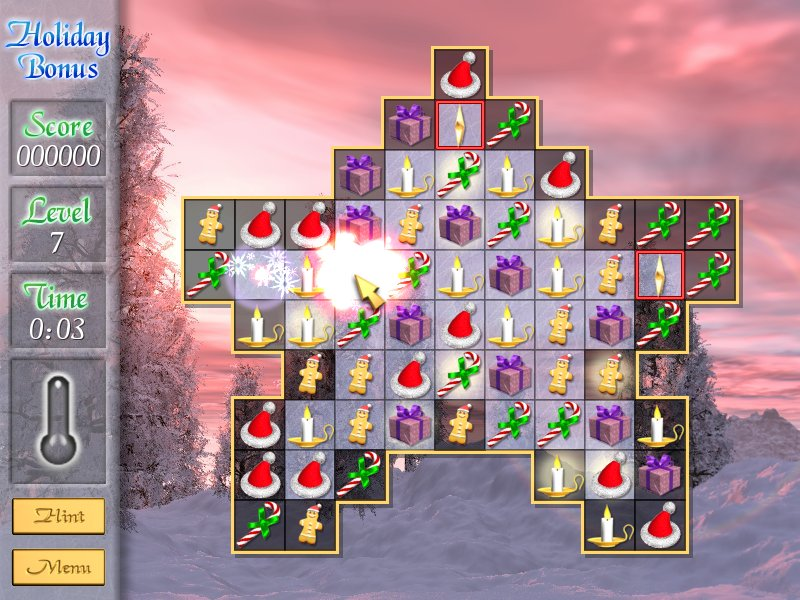 Chill out with this cool Holiday-themed puzzle game from Grey Alien Games.